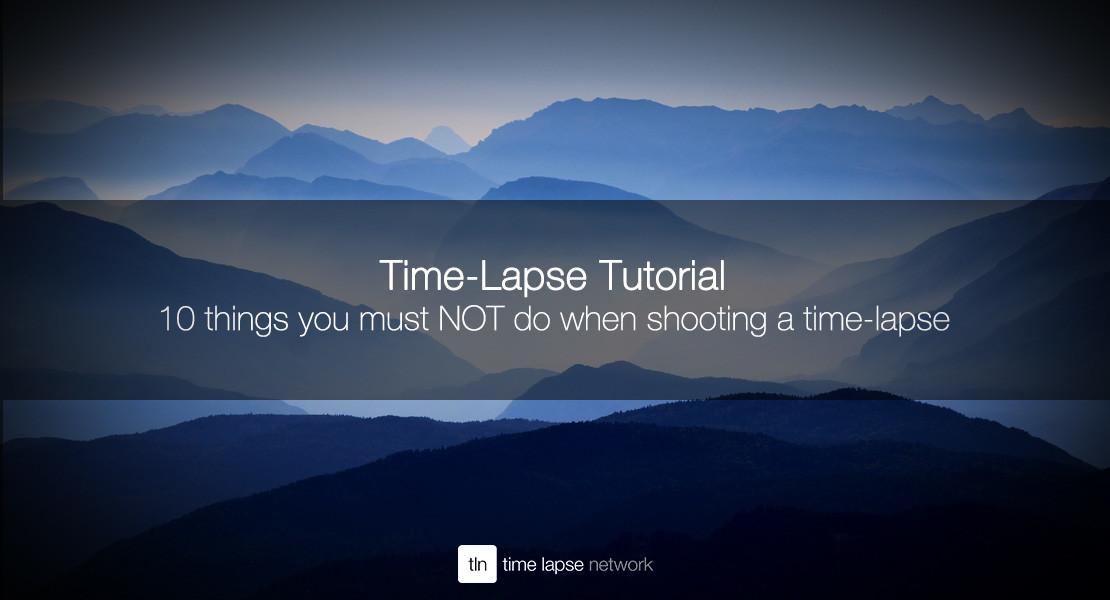 time lapse audio