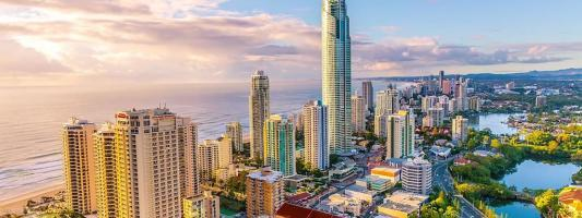 Australia's Gold Coast in Timelapse