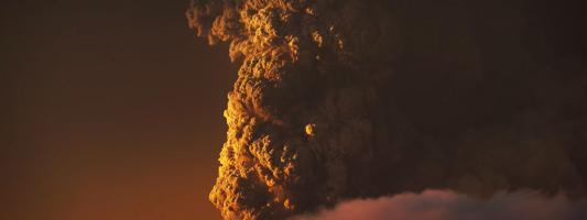 Calbuco Volcano exploding over Chile gets captured in 4K!