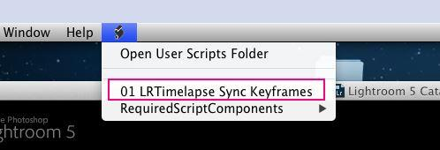 LRT tutorial - 06 - sync settings script mac
