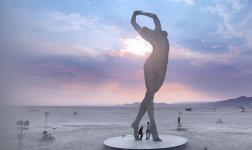 Lake of Dreams: the Burning Man has never been so breathtaking