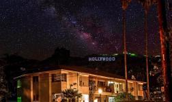 Skyglow shows the effects and dangers of urban light pollution