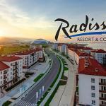 Sochi Radisson hotel timelapse 01