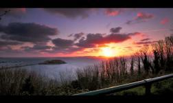 The island of Guernsey portrayed in timelapse