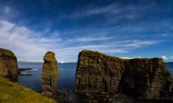 Night Landscape by the Scottish county of Caithness