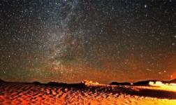 Death Valley in a timelapse time of Moby