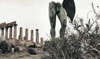 The Valley of the Temples in Agrigento, in timelapse