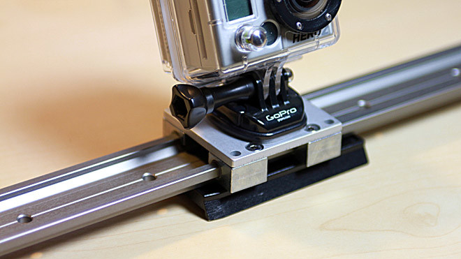 Diy how to build a cheap non motorized slider for gopro hero Motorized video slider