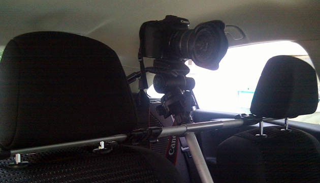 Time Lapse in car