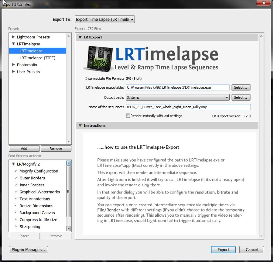TLN Basic Workflow timelapse processing LRTimelapse - Tutorial 06 copy