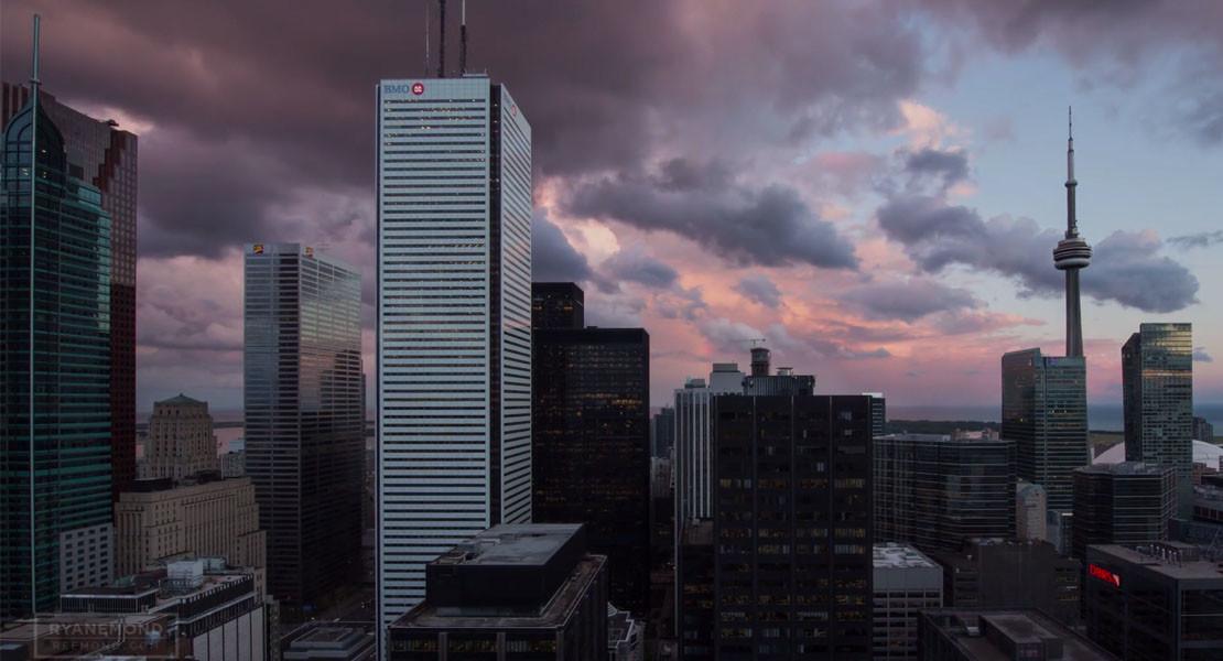 Toronto Skyline Porn