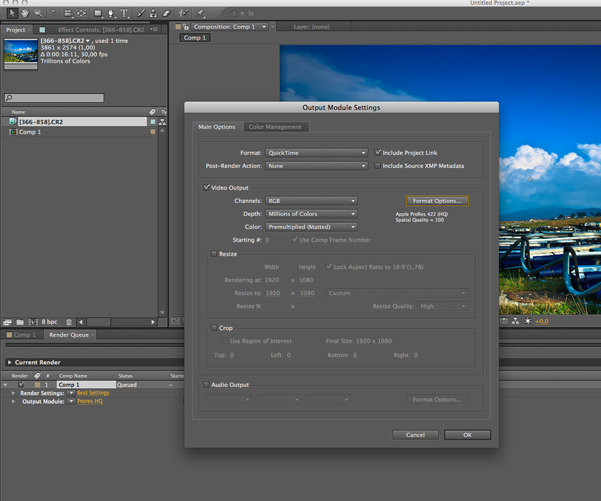 Tutorial - How to create a timelapse with After Effects