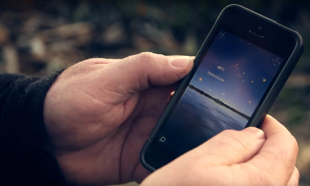 Planning your shooting session with the help of apps: Starwalk 2