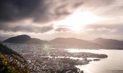 The City between 7 Mountains: a new Bergen timelapse