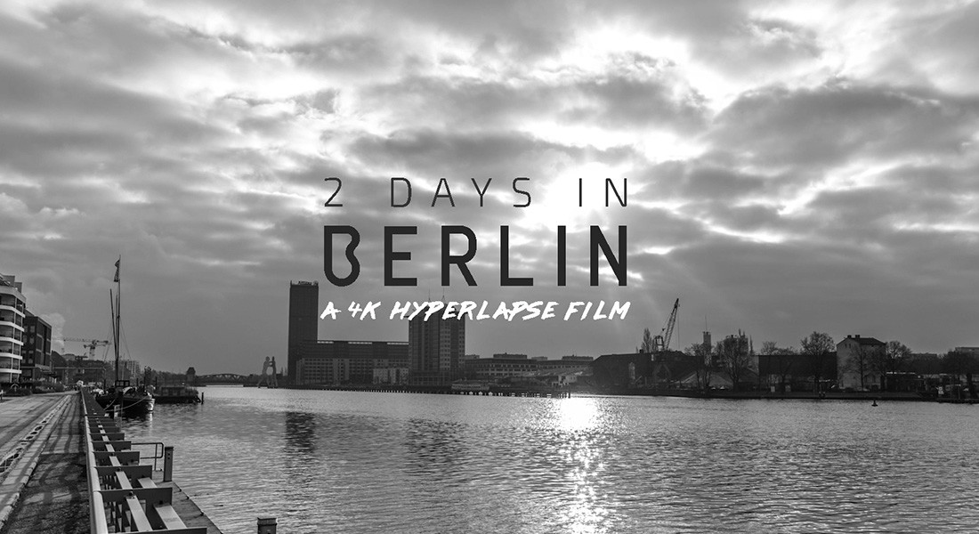 Berlin in black and white a 4k hyperlapse time lapse network