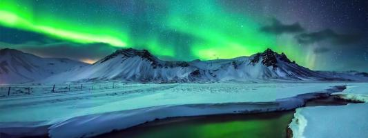 It's a kind of magic: amazing northern lights over Greenland and Iceland