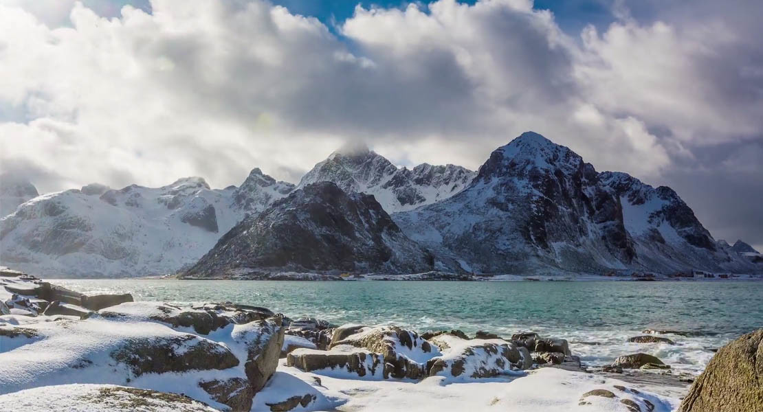 winter in lofoten 2015 timelapse